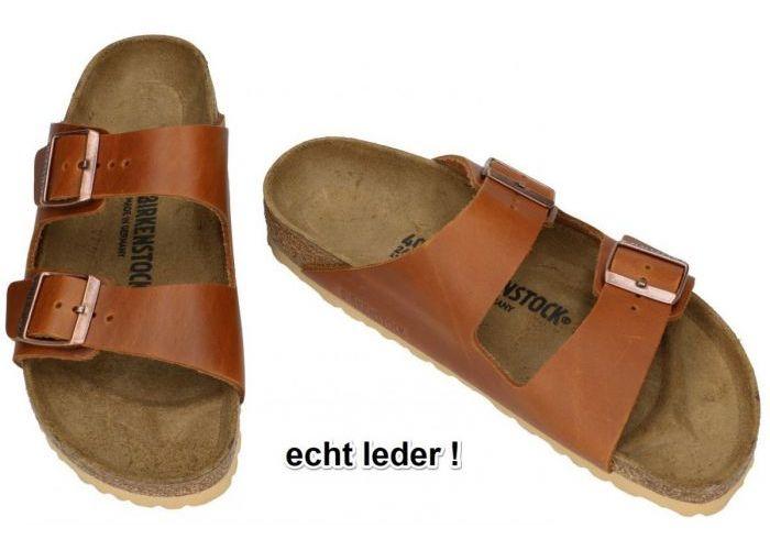 Birkenstock 1015539 ARIZONA BS pantoffels & slippers cognac/caramel