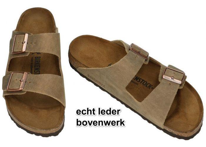Birkenstock 0352203 ARIZONA BS pantoffels & slippers bruin