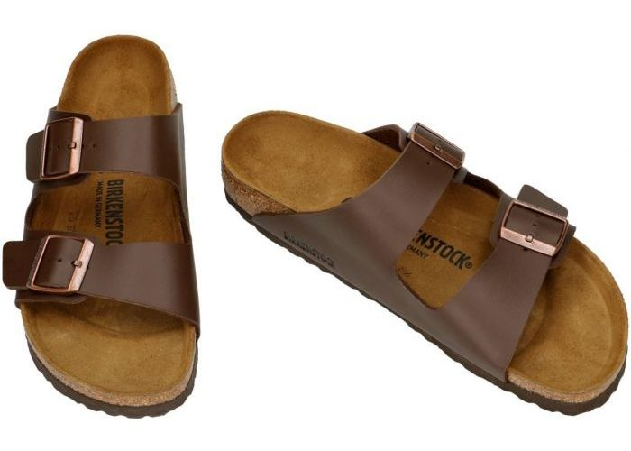 Birkenstock 0051703 ARIZONA pantoffels & slippers bruin donker