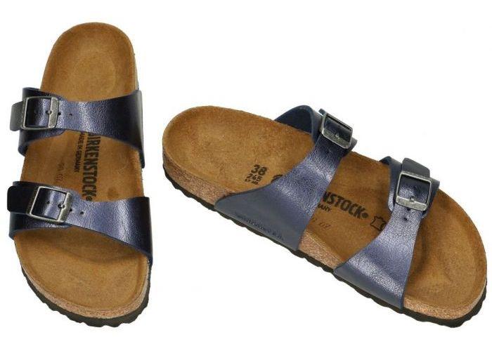 Birkenstock 1018722 SYDNEY BS slippers & muiltjes blauw donker