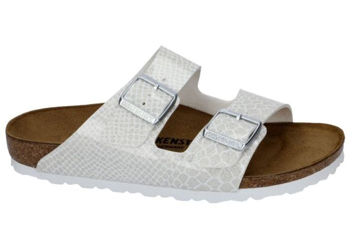 Damesschoenen Birkenstock SLIPPER - MUILTJE 1009127 ARIZONA Wit