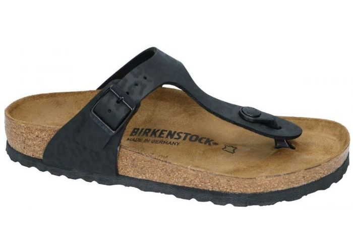 Damesschoenen Birkenstock SLIPPERS & MUILTJES 1016776 GIZEH BS  Zwart