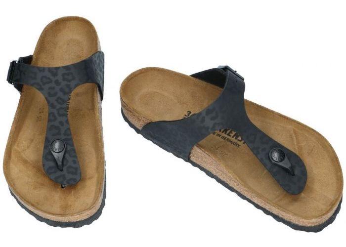 Birkenstock 1016776 GIZEH BS  slippers & muiltjes zwart