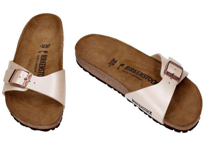 Birkenstock 0940153 MADRID slippers & muiltjes beige
