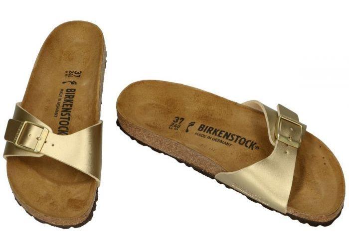 Birkenstock 1016107 MADRID BS slippers & muiltjes goud