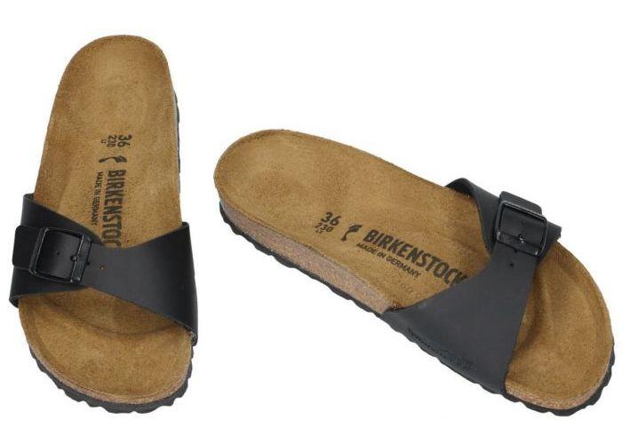 Birkenstock 0040793 MADRID BS slippers & muiltjes zwart