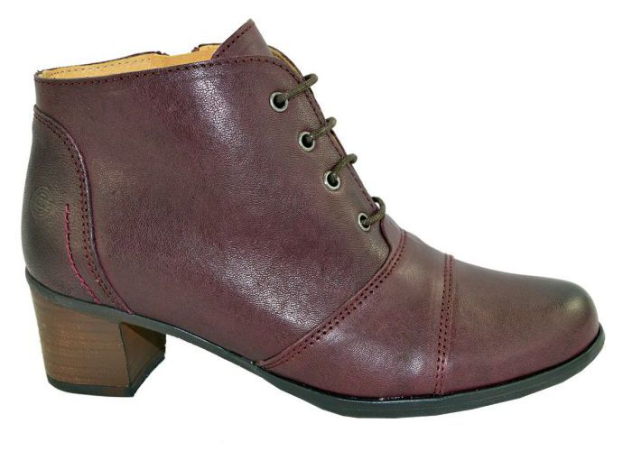Damesschoenen Brako BOTTINES 7600 Bordeaux