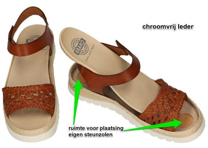 Brako 2231 sandalen bruin