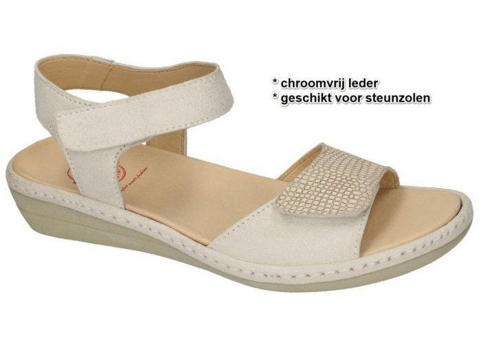 Damesschoenen Brako SANDALEN 2302 Off-white-crÈme-ivoor