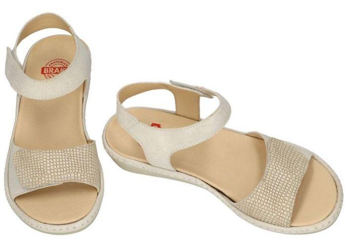 Brako 2302 sandalen off-white-crÈme-ivoor