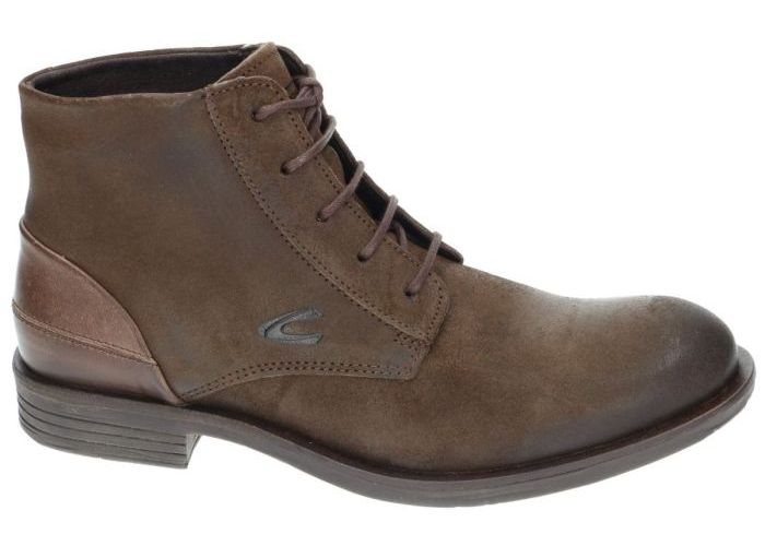 Herenschoenen Camel Active BOTTINES 499.12.02 CHECK Bruin