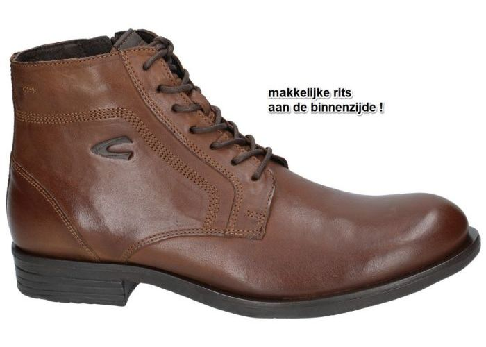 Herenschoenen Camel Active BOTTINES 499.14.03 CHECK Bruin