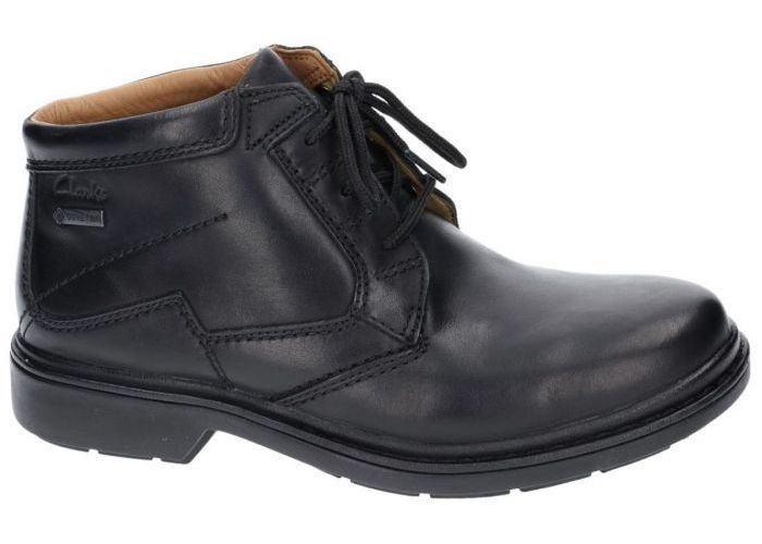 Clarks 7085 bottines zwart