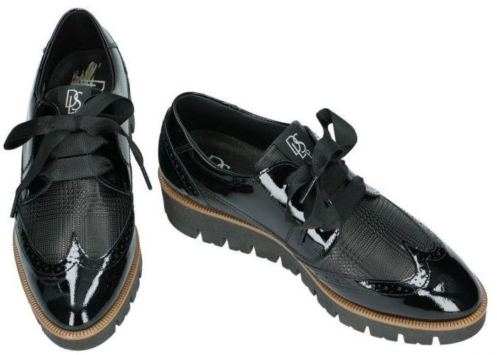 Dlsport 4947 versione 01 lage gesloten schoenen zwart