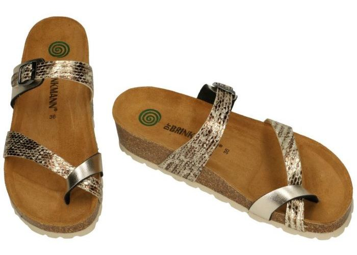 Dr Brinkmann BKM5E250GO slippers & muiltjes goud