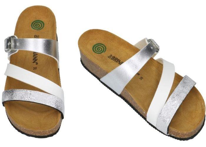 Dr Brinkmann BKM3E225W1 slippers & muiltjes zilver
