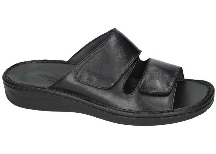 Fbaldassarri B-1767 pantoffels & slippers zwart
