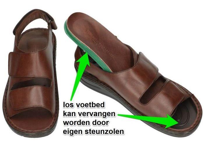 Fbaldassarri B-1766 sandalen bruin
