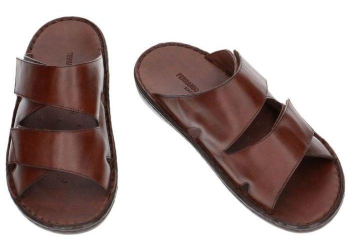 Fbaldassarri B-1586 pantoffels & slippers bruin