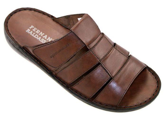 Fbaldassarri B-323 pantoffels & slippers cognac/caramel