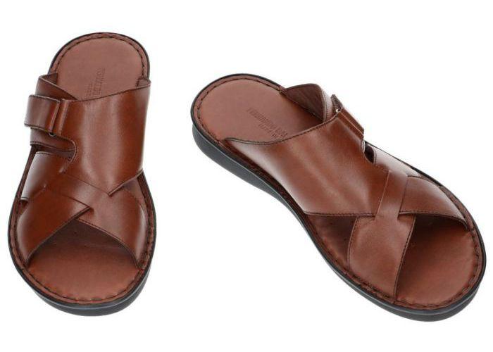 Fbaldassarri B-723 pantoffels & slippers cognac/caramel
