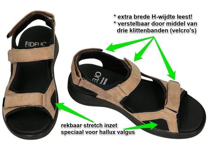 Fidelio Hallux 536007 HALLUX HI DYNAMIC H sandalen camel
