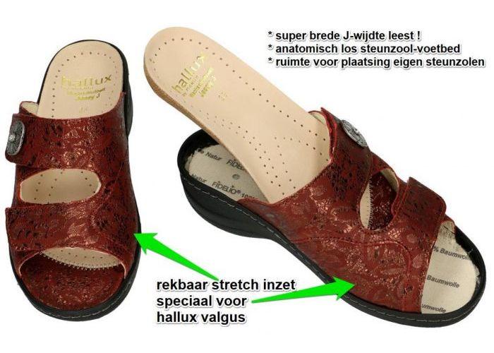 Fidelio Hallux 45003 HALLUX JESSY (J)  slippers & muiltjes bordeaux