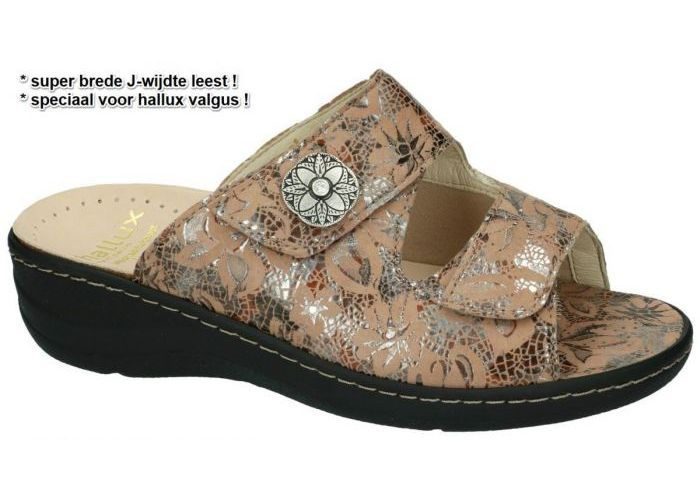 Damesschoenen Fidelio Hallux SLIPPERS & MUILTJES 456003 HALLUX JESSY J Camel