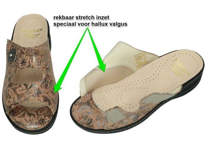 Fidelio Hallux 456003 HALLUX JESSY J slippers & muiltjes camel