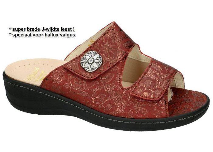 Damesschoenen Fidelio Hallux SLIPPERS & MUILTJES 456003 HALLUX JESSY J Bordeaux