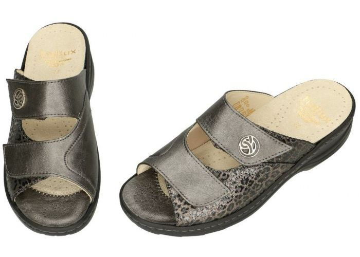 Fidelio Hallux 236031 HALLUX HEDI (H) slippers & muiltjes brons