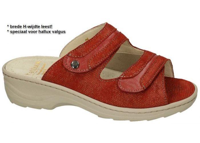 Damesschoenen Fidelio Hallux SLIPPERS & MUILTJES 236023 HALLUX HEDI H½ Roest (bruin-rood)