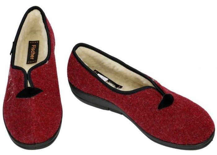 Fischer 203528 pantoffels bordeaux