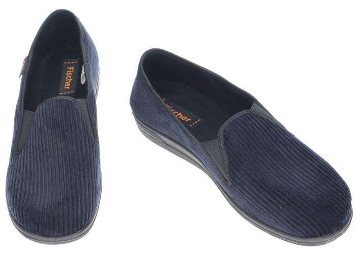 Fischer 204120 pantoffels & slippers blauw donker