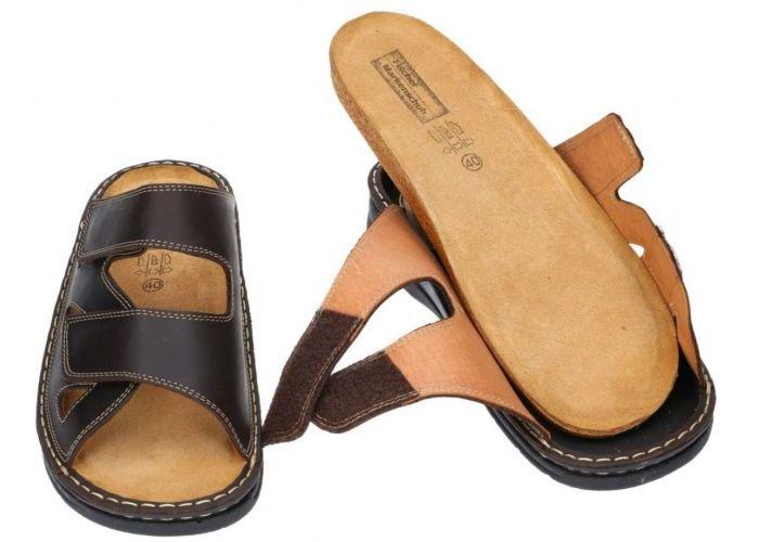 Fischer 19751 pantoffels & slippers bruin donker