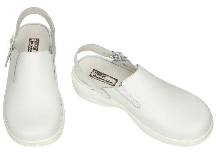 Fischer 19085 pantoffels wit