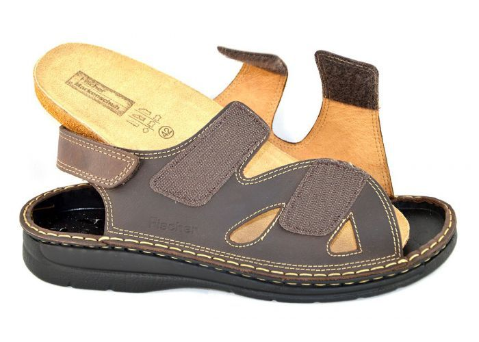 Fischer 19756 sandalen bruin donker