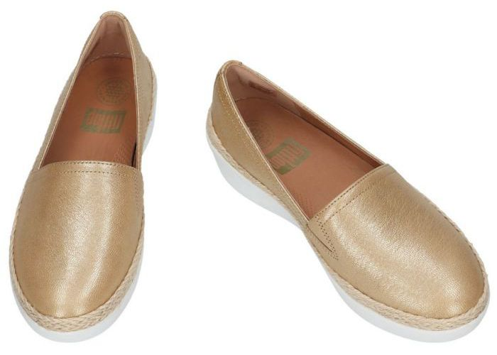 Fitflop 7446 mocassins - loafers goud