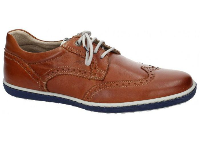 Herenschoenen Fluchos CASUAL / WEEKEND 8610 Cognac/caramel