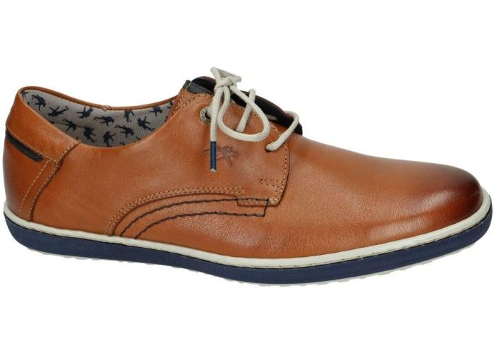 Herenschoenen Fluchos CASUAL / WEEKEND 9710 Cognac/caramel