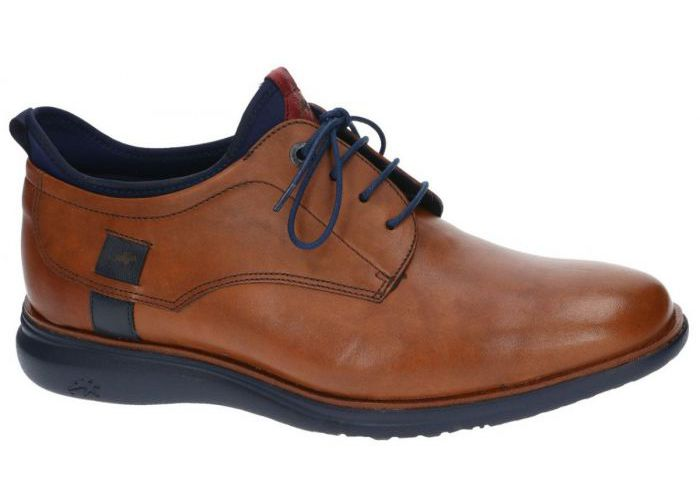 Herenschoenen Fluchos CASUAL / WEEKEND 9849 Cognac/caramel