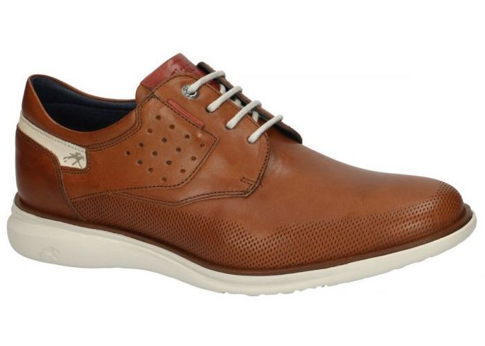 Herenschoenen Fluchos CASUAL / WEEKEND F0194 FENIX Cognac/caramel