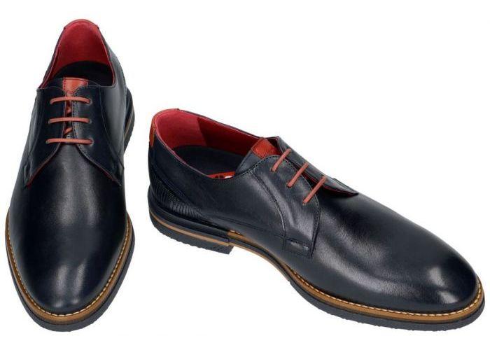Fluchos F0526 CLOONEY geklede lage schoenen blauw donker