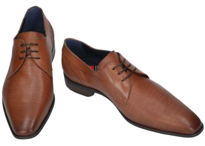 Fluchos 19279 cesar 8963 geklede lage schoenen cognac/caramel