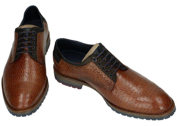 Fluchos 32652 CICLOPE F073 geklede lage schoenen cognac/caramel