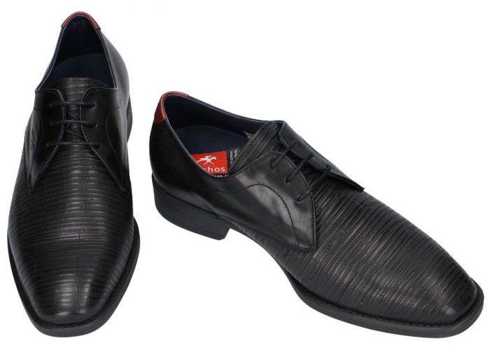 Fluchos LUKE - F1057  geklede lage schoenen zwart