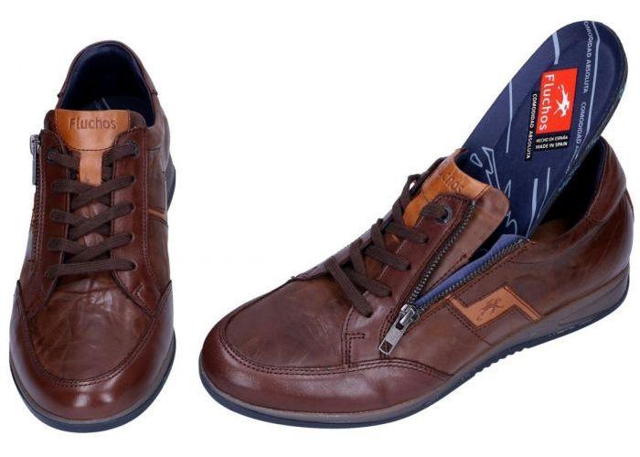 Fluchos DANIEL F0210 sneakers bruin donker