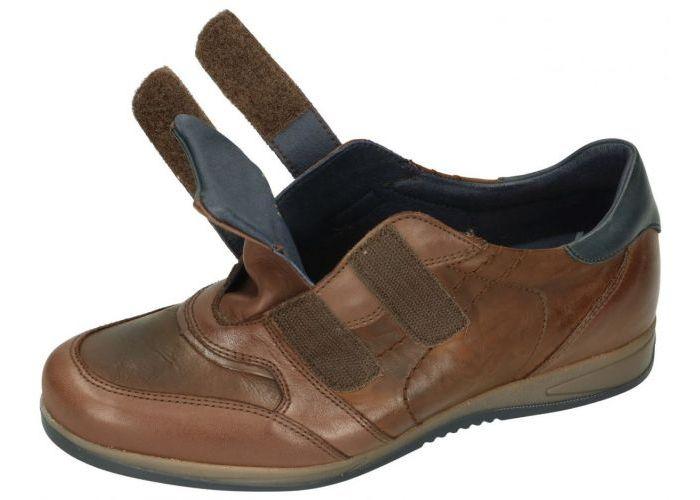 Fluchos DANIEL 9262 sneakers bruin donker