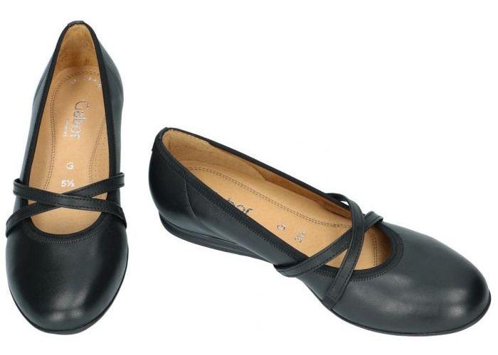 Gabor 62.626.57 ballerina's & mocassins zwart