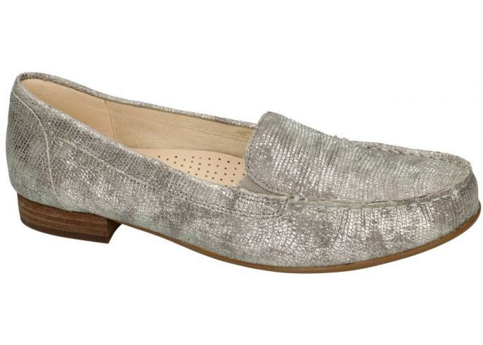 Gabor 6187 mocassins - loafers zilver